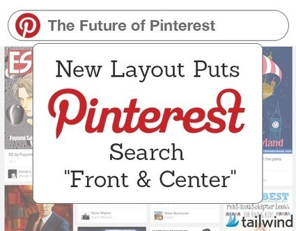 "New Layout Test Puts Pinterest Search ""Front & Center"" - Business 2 Community 
