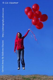 Carried Away byBalloons | Photography For All | Scoop.it