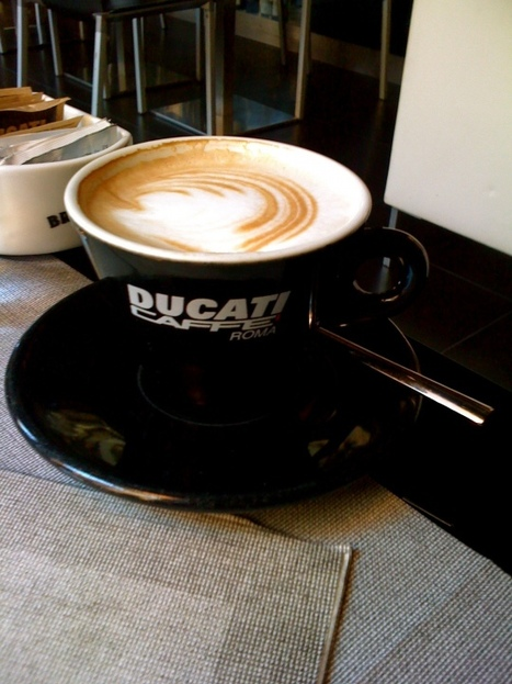 POI |  Photo Tour | Ducati Caffe | Rome | Ductalk Ducati News | Scoop.it