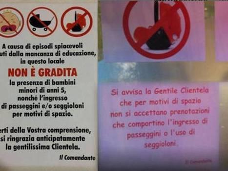 Accoglienza turistica allo sbando! «Vietato l'ingresso ai bimbi» | Accoglienza turistica | Scoop.it