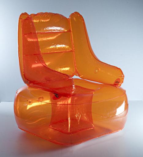 "Quasar Khanh: La collection ""AEROSPACE"" 1968 - velvet galerie - mobilier design - Quasar Khanh - inflatable furniture-pop culture   Quasar Khanh universe : www.quasar-khanh.com   Scoop.it"
