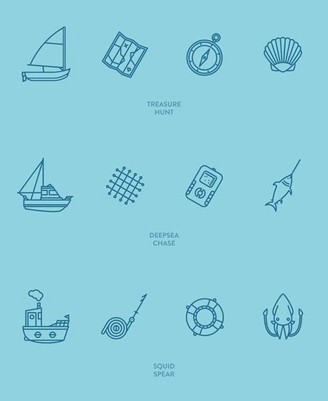 60 Free Outline Icon Sets Perfect for Contemporary Designs | Grow Social Net | Scoop.it