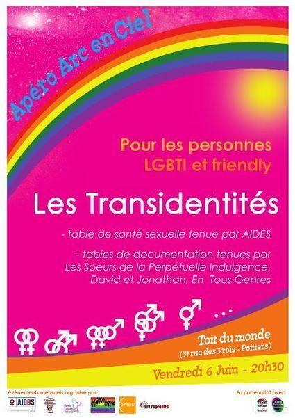 6 juin 2014 – Apéro Arc en Ciel | Txy | Txy - Communauté des Travestis, Transgenres & Transidentitaires | Scoop.it