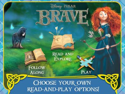 Disney Pixar Brave iPad App Brings the Movie Home | iPadApps | Scoop.it