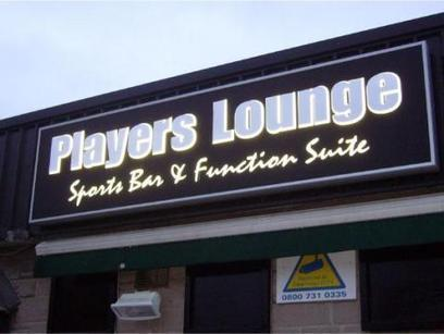 Players Lounge shop signs Sheffield 3D LED backlit illuminated signage | Blog Articles | Scoop.it