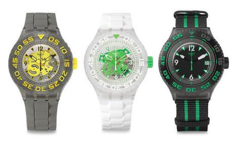 Swatch Scuba Libre Range Of Waterproof Watches - Up to 200 meters! | Scuba Diving Equipment | Scoop.it