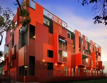 [West Hollywood, California, USA] Formosa 1140 / Lorcan O'Herlihy Architects | The Architecture of the City | Scoop.it