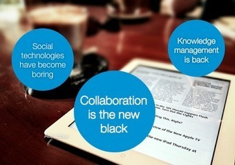 3 major trends in knowledge work | Future Knowledge Management | Scoop.it