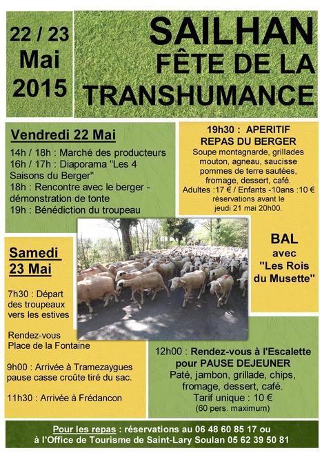 Fête de la transhumance à Sailhan les 22 et 23 mai | Vallée d'Aure - Pyrénées | Scoop.it