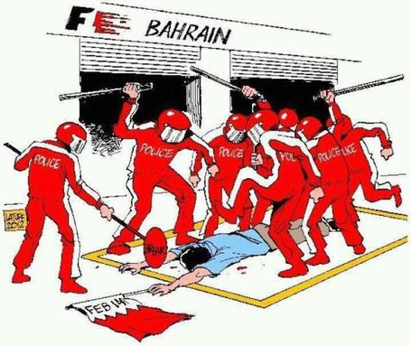 #BloodyF1 |  Bahrain: Race is held to whitewash regime Human Rights violations | Human Rights and the Will to be free | Scoop.it