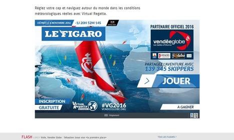 Le Figaro fait un premier pas dans l'e-sport avec l'intégration du jeu Virtual Regatta sur son site   Offremedia   ACTU LAB   Scoop.it