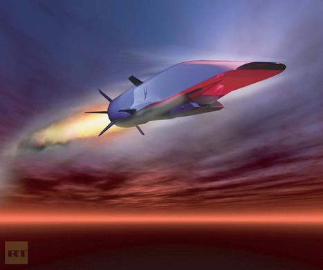 Across Atlantic in an hour? Pentagon tests hypersonic X-51A WaveRider aircraft (PHOTOS, VIDEO) | News & Politics | Scoop.it