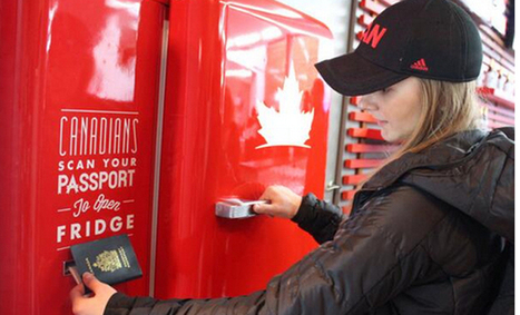 This Canadian beer machine is the most amazing technology at the Olympics | Digital Marketing News | Scoop.it