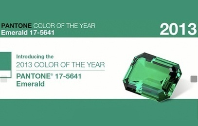 Emerald, Colour of the Year 2013 | A Passion For Print | Scoop.it