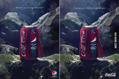 Pepsi VS Coca Cola, botta e risposta sulla pubblicità di Halloween   IL MARKETTARO   Scoop.it