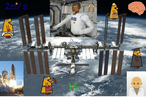 A Robot on the International Space Station!   Jabberites   The interactive Classroom   Scoop.it