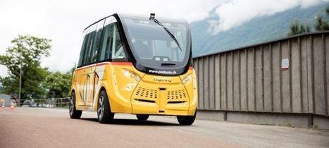 Les premières navettes sans chauffeur circulent à Sion   Innovation and trends in tourism   Scoop.it
