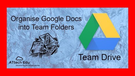 The New Google Team Drives - Unboxing Team Drives - A New Way to Share Content with your Team | MATE AL DÍA (Educación y TICs) | Scoop.it