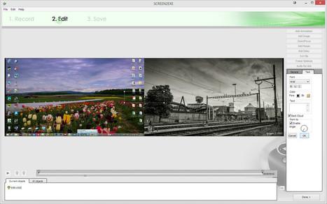 Screen2Exe - enregistrez ce que vous faîtes à l'écran   Chroniques libelluliennes   Scoop.it