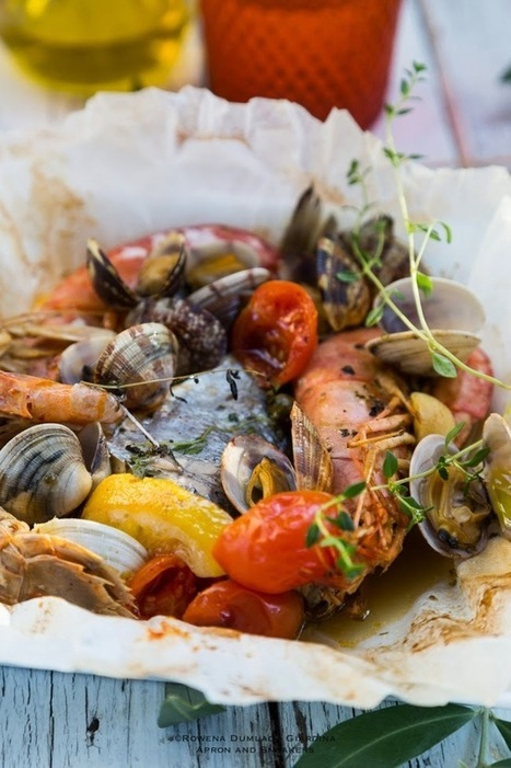 Cooking & Traveling in Italy and Beyond: Frutti di Mare al Cartoccio (Baked Seafood Pouches) | Books, Food, Home, Wanderlust | Scoop.it