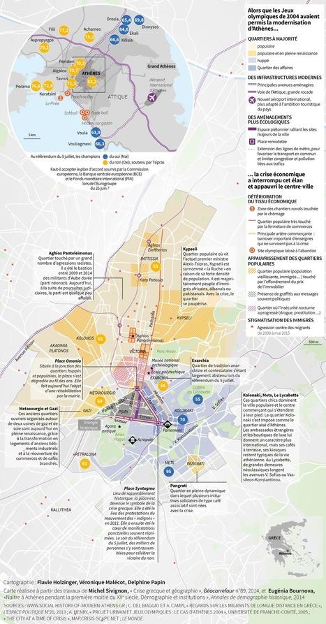 Athènes, fracturée par la crise | Geekkech : just another geek ... | Scoop.it