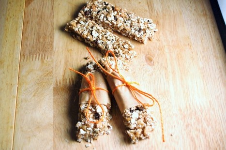 Autumn Spice Granola Bars [Vegan, GF] | My Vegan recipes | Scoop.it