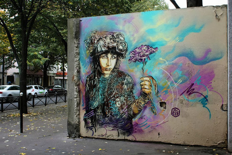 C215 New Street Art Pieces - Paris, France | Culture and Fun - Art | Scoop.it
