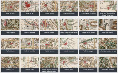 La Carte de Cassini dans Gallica : nouvel accès par région - Languedoc-Roussillon Midi-Pyrénées | Nos Racines | Scoop.it