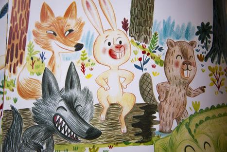 Promenons-nous dans les bois | Littérature jeunesse, roman album et autres | Scoop.it