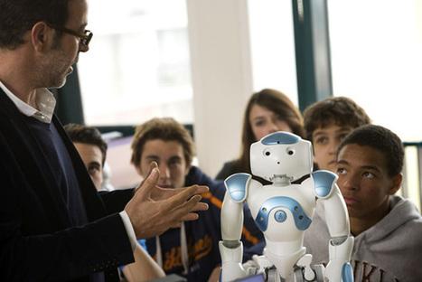 NAO, le robot français qui enseigne dans plus de 200 écoles | Locita.com | Des robots et des drones | Scoop.it