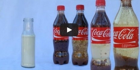 This is What Happens When You Mix Coca Cola and Milk [Video] | ahlifikircom | Scoop.it