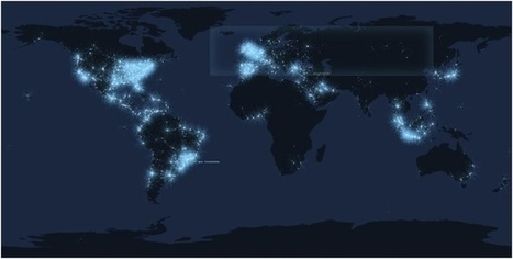 Watch a Map of Lost Productivity (Otherwise Known as Tweeting) | Technology | Scoop.it