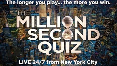 NBC's 'Million Second Quiz' App: Strategic and Addicting | screen seriality | Scoop.it