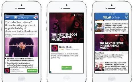 Facebook lance son réseau publicitaire mobile   General mobile stuff   Scoop.it
