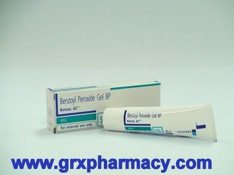 Benzac AC (Benzoyl Peroxide Gel) | Grxpharmacy | Scoop.it