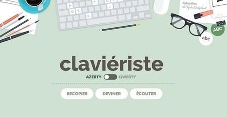 Travailler lecture et orthographe avec clavieriste | lectures | Scoop.it