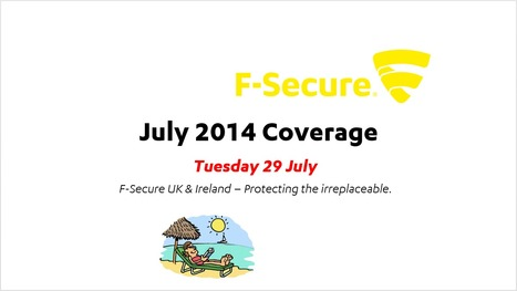 July Coverage (29th) | F-Secure Coverage (UK) | Scoop.it