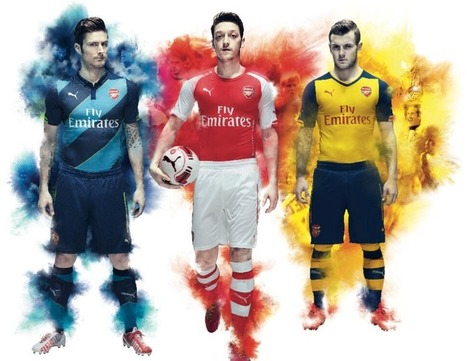 Arsenal Kit 2014/15 Revealed | football on mars | Scoop.it