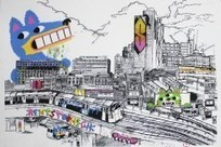 We meet Shoreditch street art sketcher John Dolan - Time Out London | Weird and Wonderful East London | Scoop.it