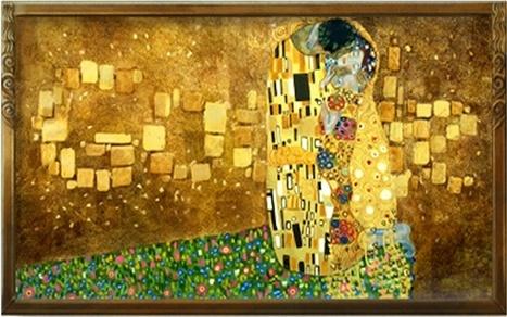 Golden Google Doodle Honors Austrian Painter Gustav Klimt | Entrepreneurship, Innovation | Scoop.it