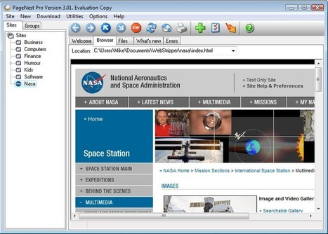 PageNest, o cómo guardar páginas completas para su exploración offline | La biblioteca de Alejandría está en la Red | Scoop.it