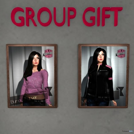 Burnout Pullover and Motor Jacket Group Gift by SLooT | Teleport Hub - Second Life Freebies | Second Life Freebies | Scoop.it