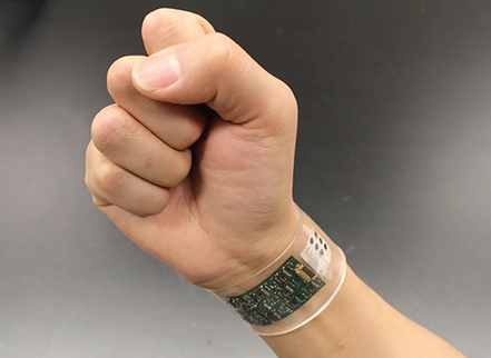 Wearable Sensors That Can Tell What's in Your Sweat | MIT Technology Review | Electronique et Instrumentation Biomédicales | Scoop.it