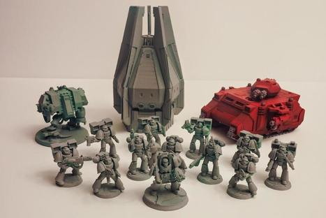 3D Printing Is Going to Turn the Miniatures Gaming Market into a War Zone | Research_topic | Scoop.it