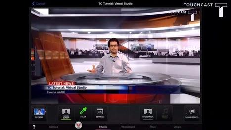 Journaliste ou présentateur : un rêve à portée de tablette ! | Usage Numérique Université | Scoop.it
