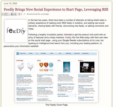 Feedly: behind the scene | RSS Circus : veille stratégique, intelligence économique, curation, publication, Web 2.0 | Scoop.it