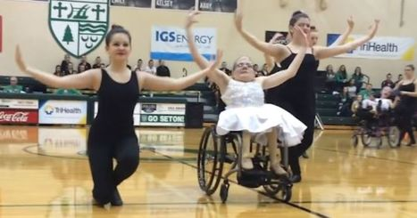 Girls in wheelchairs fulfill dancing dreams | The Art of Dance | Scoop.it