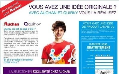 Auchan importe le développement collaboratif des États-Unis | Customer-centricity | Scoop.it