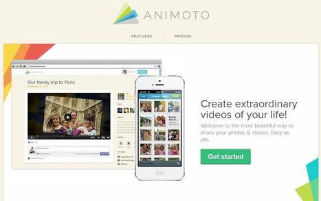 Animoto - Make & Share Beautiful Videos Online | Tecnología Educativa & Psicología Educativa | Scoop.it