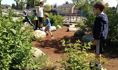 playscapes: Brock Elementary School Natural Playscape (with cost information!), Skala Design, Vancouver Canada, 2010 | The ECE Outdoor Classroom | Scoop.it